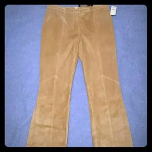 NWT Laundry Leather Pants